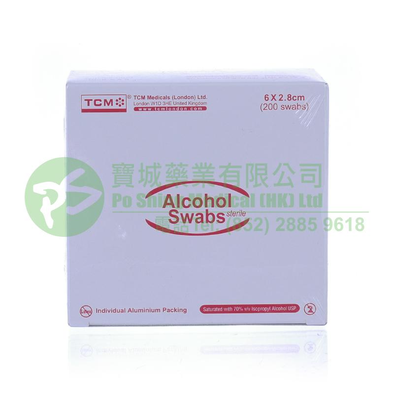 TCM 酒精消毒紙 6 x 2.8 厘米
