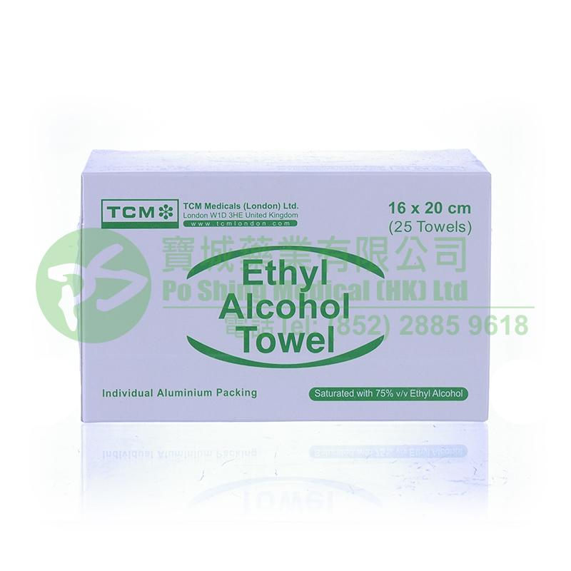 TCM 乙醇酒精消毒紙 16 x 20 厘米