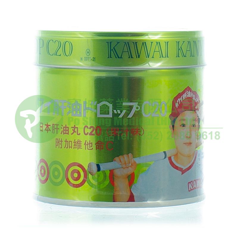 KAWAI 日本肝油丸 C20 (果汁味)
